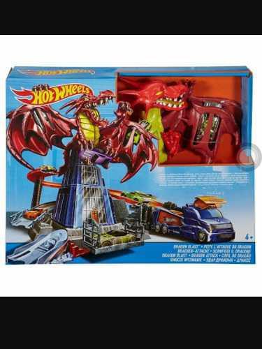Hot wheels dragon explosivo.
