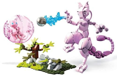 Mega construx pokemon mew vs. mewtwo clash 341pcs