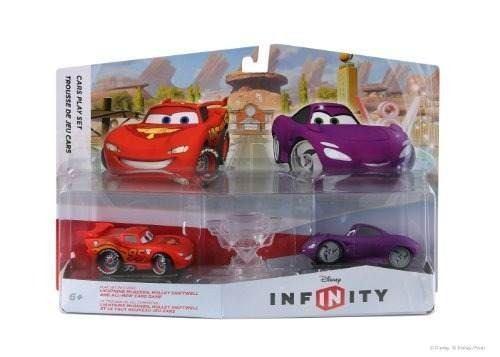 Paquete de juegos de disney infinty cars lightning mcqueen y