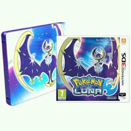 Pokemon luna moon fan edition 3ds pal original nuevo sellado
