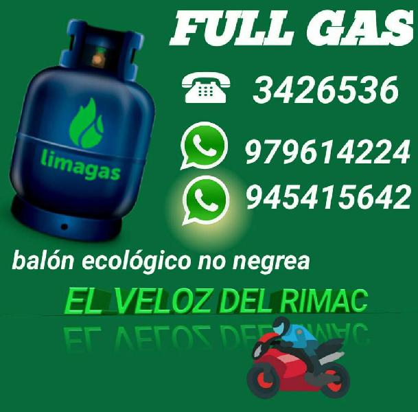 Rimac gas delivery