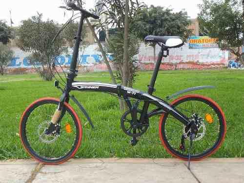 Bicicleta plegable nueva