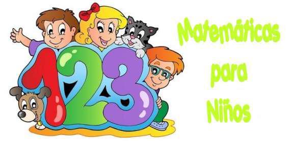Clases particulares de matemáticas para niños de primaria