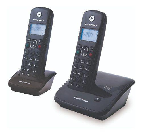 Motorola - Teléfono Inalambrico Auri2020-2 2.4ghz - Negro