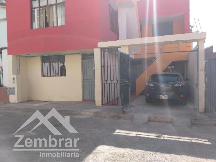 Venta departamento primer piso en urb privada monterrico