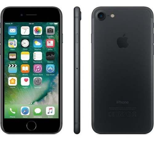 Iphone 7 32 gb 4.7'' 4g liberado 12mpx matte black 9/10