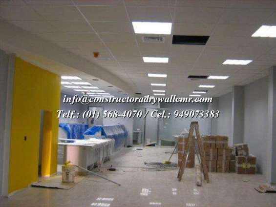 Expertos en ampliación y remodelacion en sistema drywall