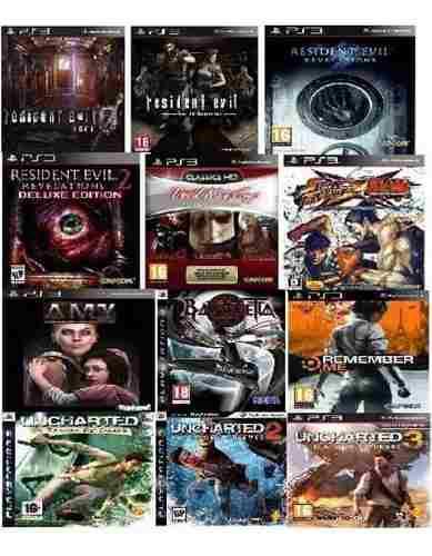 Juegos ps3. 12 juegos digitales en un solo pack