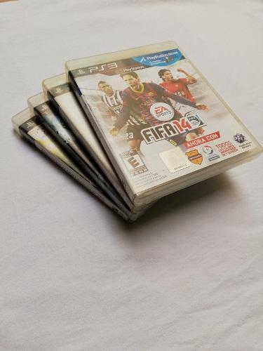 Paquete de 4 juegos ps3 a super precio! originales