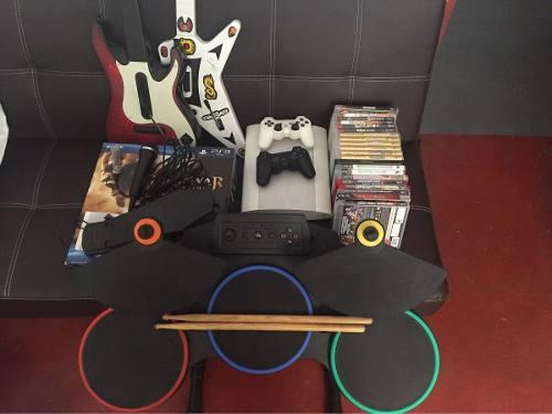 Play station 3 + accesorios + juegos