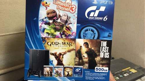 Playstation 3, 500gb casi nuevo