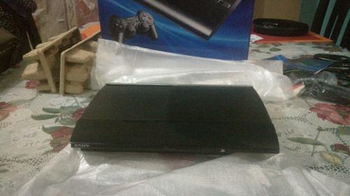 Ps3 play station 12gb sony +2 mandos + 12 juegos