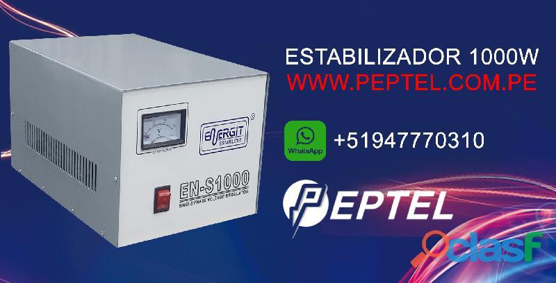 Estabilizador de voltaje 1000 watts 220vac