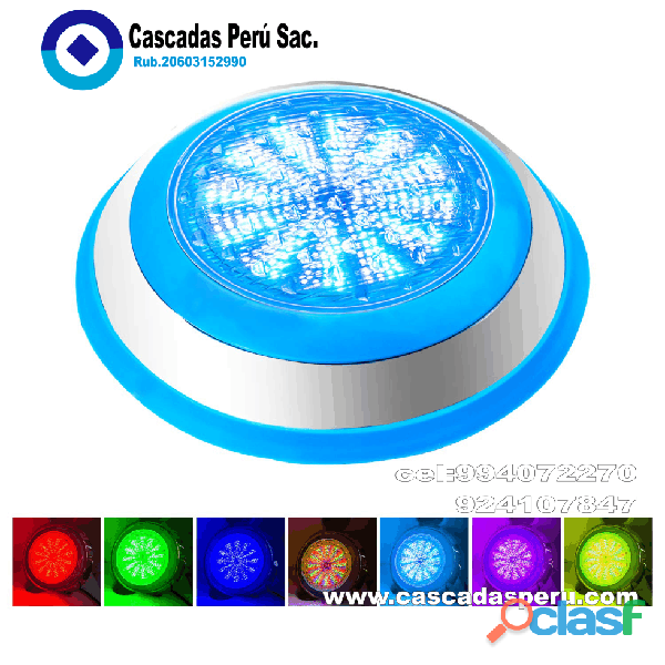 Luces led sumergibles   modernos