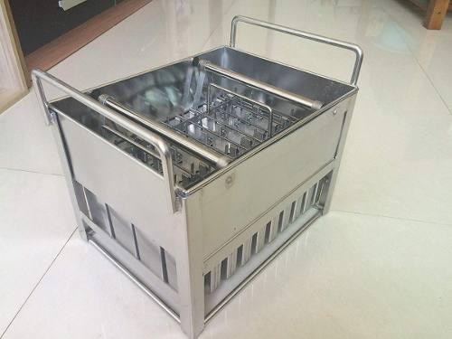 Moldes máquina de paleta 40pz acero inoxidable 125 ml