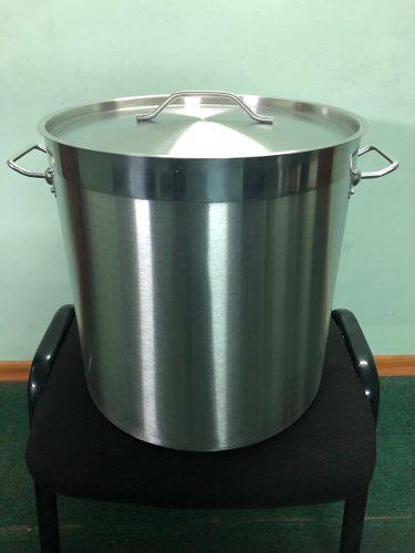Olla de acero inoxidable 50 x 50 cm - 98 litros - 4 capas