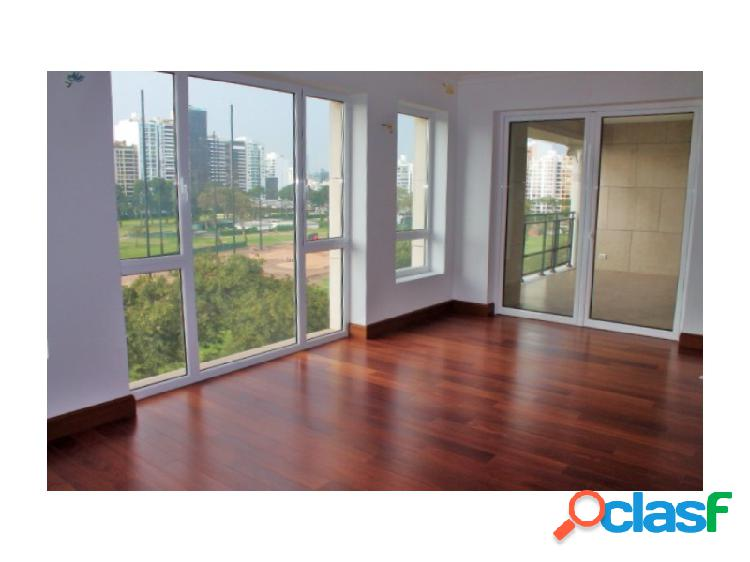 Departamento en Venta en San Isidro Estreno Flat 4 Dormitorios Lujoso Vista al Golf