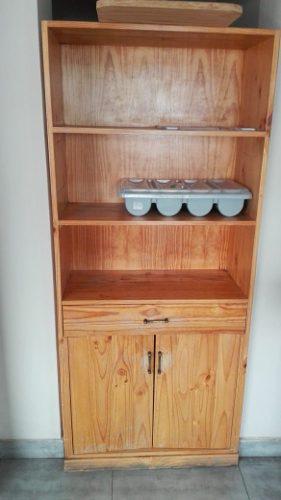 Mueble estante de pino oregon