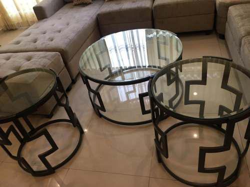 Muebles mesa de centro y esquineros en casuarinas