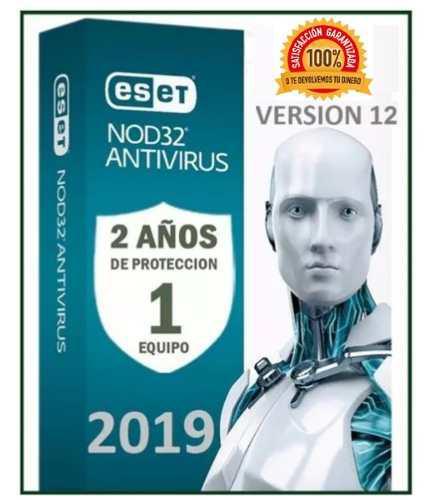 Eset nod32 antivirus 2 año una licencia original (1pc) 2019
