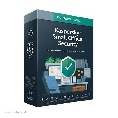Kaspersky small office security 10 pcs + 1 servidor, 1 año,