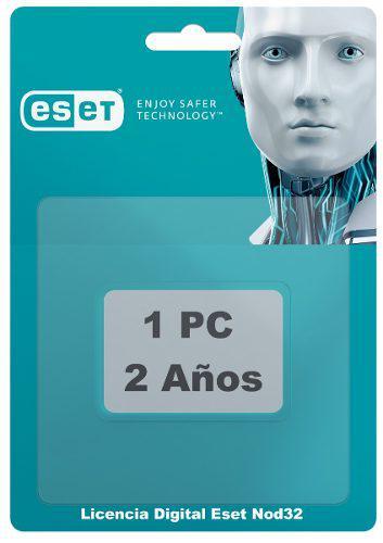 Licencia antivirus eset nod32 | 2 años | 1pc | oferta |