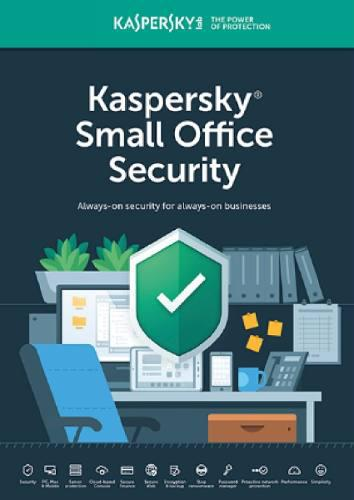 Licencia kaspersky small office 5 pcs 1 server 2 años