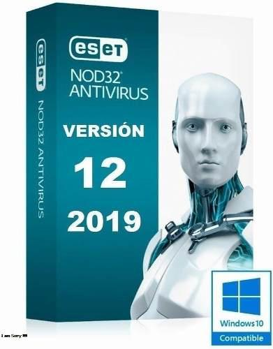 Licencia original antivirus nod 32 version v12 3 pc x 1 ano.