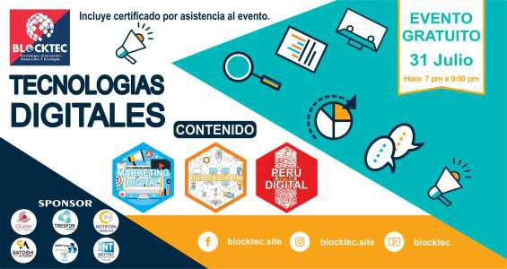 Tecnologías digitales: marketing digital, blockchain y