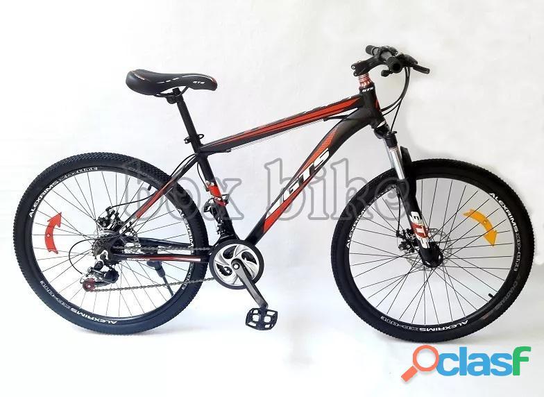 Bicicleta aro 26 cuadro de aluminio deportiva