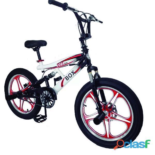 Bicicleta bmx doble suspensión 360º grados aro 20