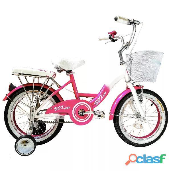 Bicicleta de niña aro 16 estilo vintaje original
