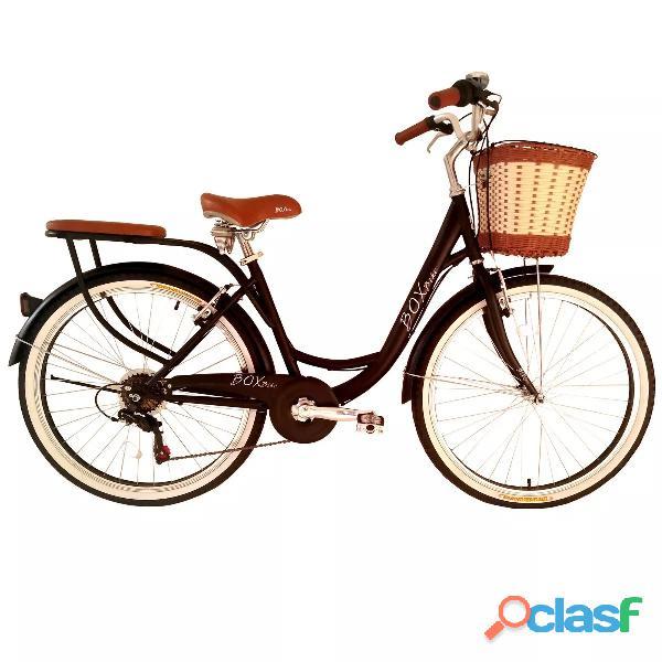 Bicicleta marca box bike modelo 2019 vintaje