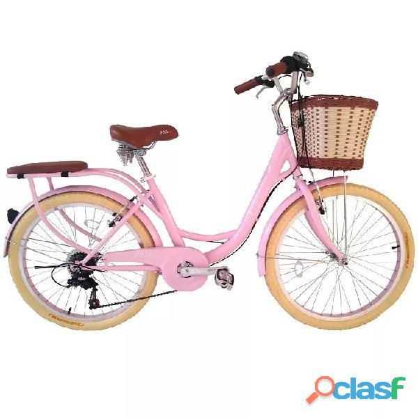 Bicicleta marca box bike modelo vintaje aro 24