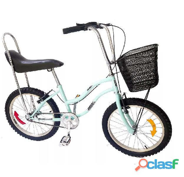 Bicicleta Modelo Hi Riser Para Dama Aro 20 Liviana
