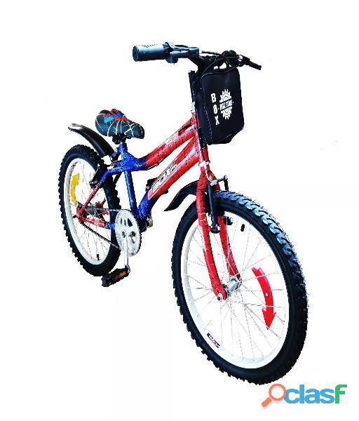 Bicicleta modelo spider man aro 20