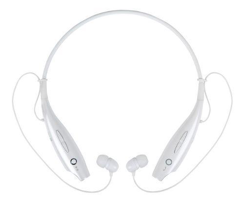 Audifonos bluetooth manos libre hbs-730 negro - blanco