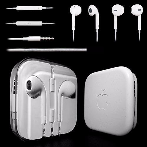 Audifonos iphone 6 5 earpods original apple nuevo sellado