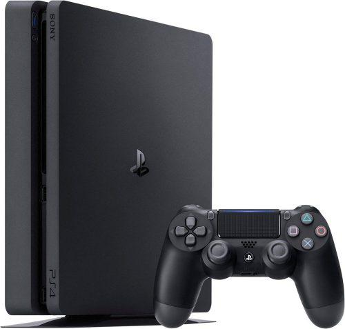Consola playstation 4 ps4 slim 1tb + 2 mandos ps4