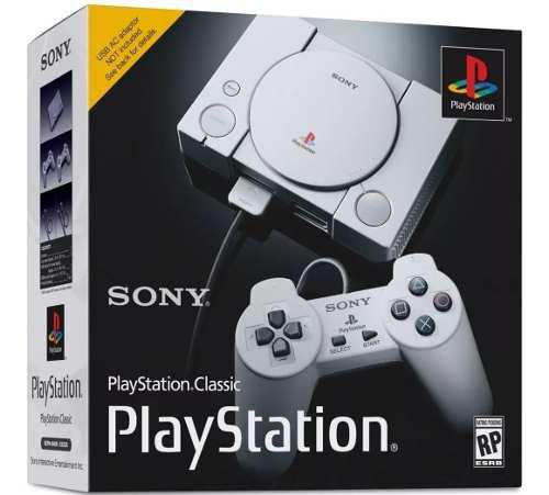 Consola playstation classic **disponible**