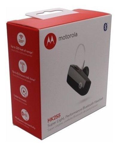 Handsfree bluetooth motorola hk255 nuevo musica y llamadas