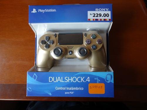 Mando ps4 dualshock 4 dorado ~ original nuevo playstation 4