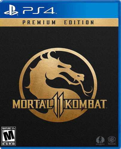 Mortal kombat 11 premium edition ps4-digital