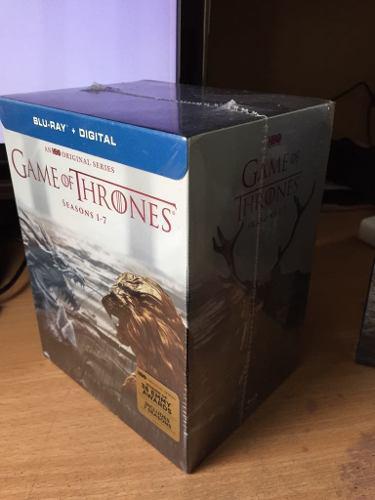 Nuevo original game of thrones temporadas 1-7 (blu-ray)