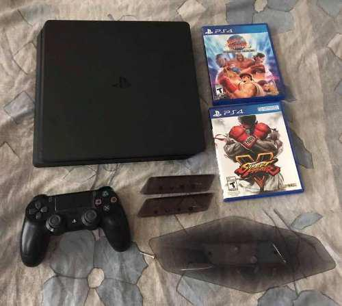 Playstation 4 ps4 500gb street fighter sony parante vertical