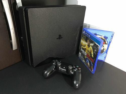 Playstation 4 slim 500gb + mando dualshock 4 + juegos