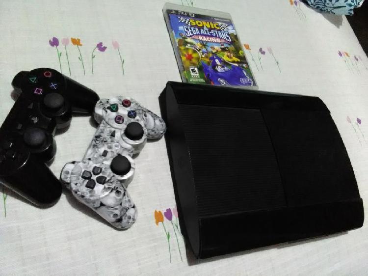 Ps3 500gb 2 mandos 30 juegos