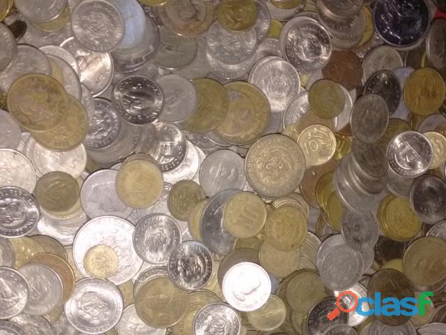 Compra de monedas por peso antiguas tambien billetes