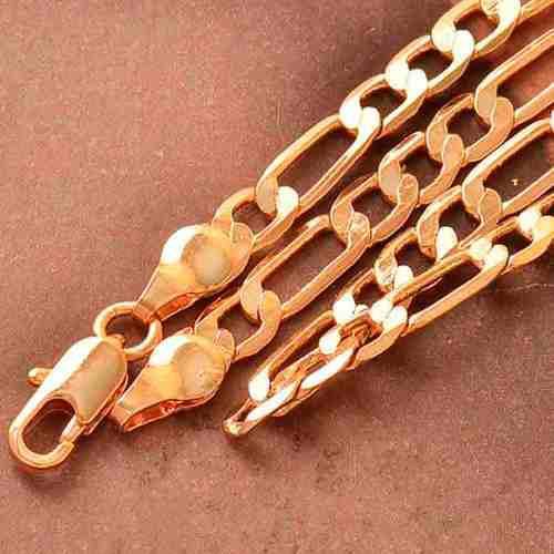 Cadena collar oro laminado rosa de 18k modelo cartier z66