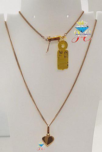 Cadena de oro 18k lomocorvina sindije mujer cd_19 jespaña